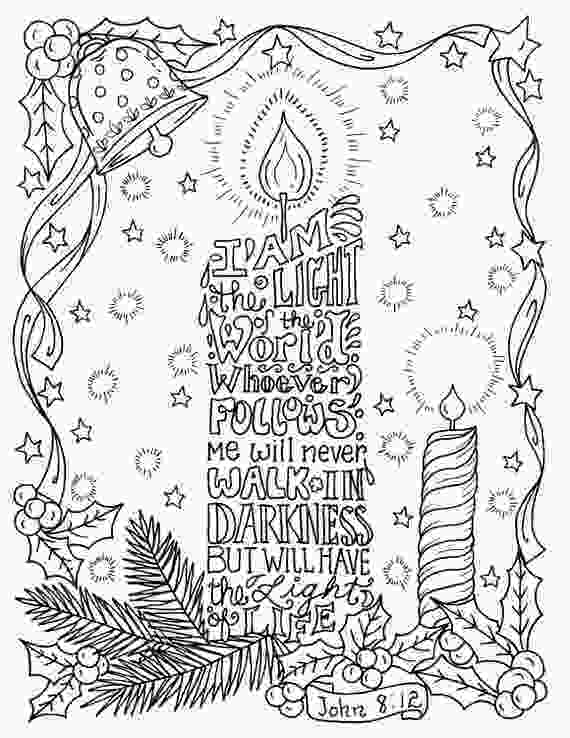 christian coloring pages christmas candle coloring page christian scripture color book