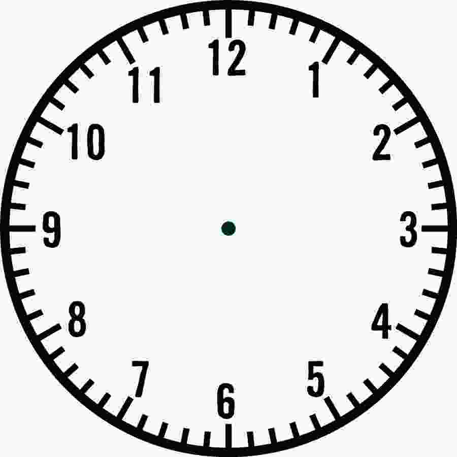 clock pictures printable blank clock faces templates activity shelter