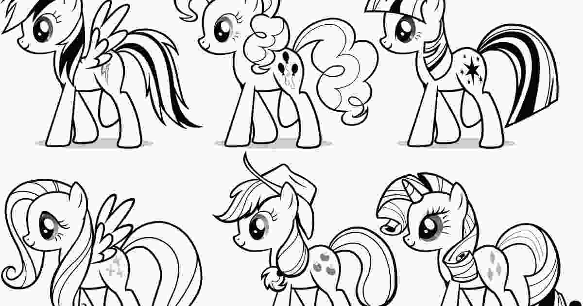 color pony my little pony coloring pages team colors