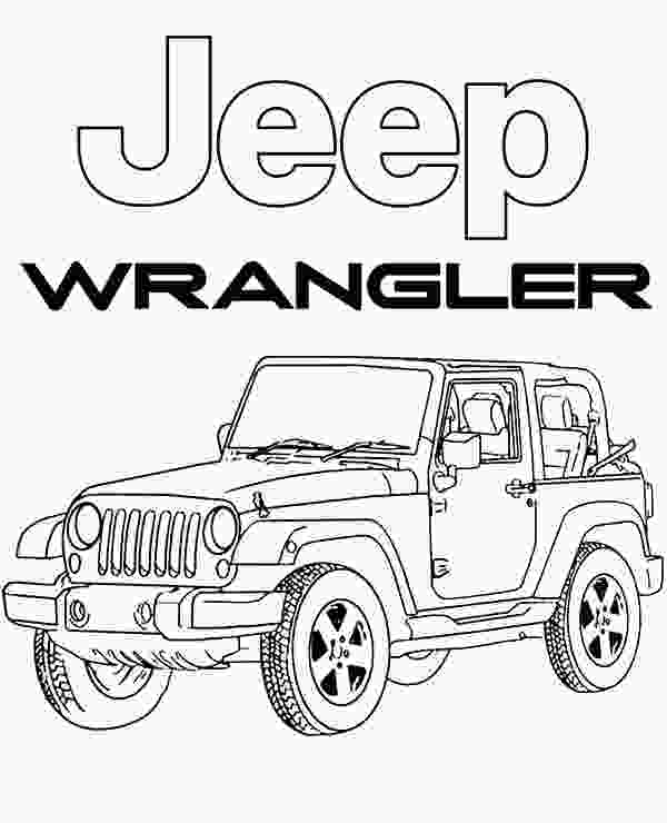 coloring pictures jeep highquality jeep wrangler coloring page to print for free
