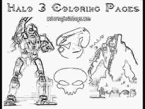 coloring sheets coloringbuddymike halo 3 coloring pages plus halo 4 youtube