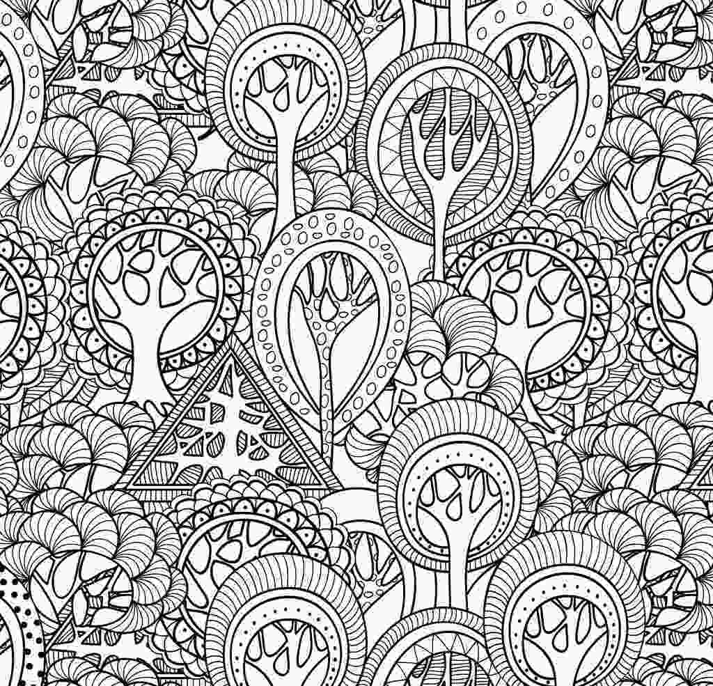 complex coloring page complex coloring pages for teens and adults best