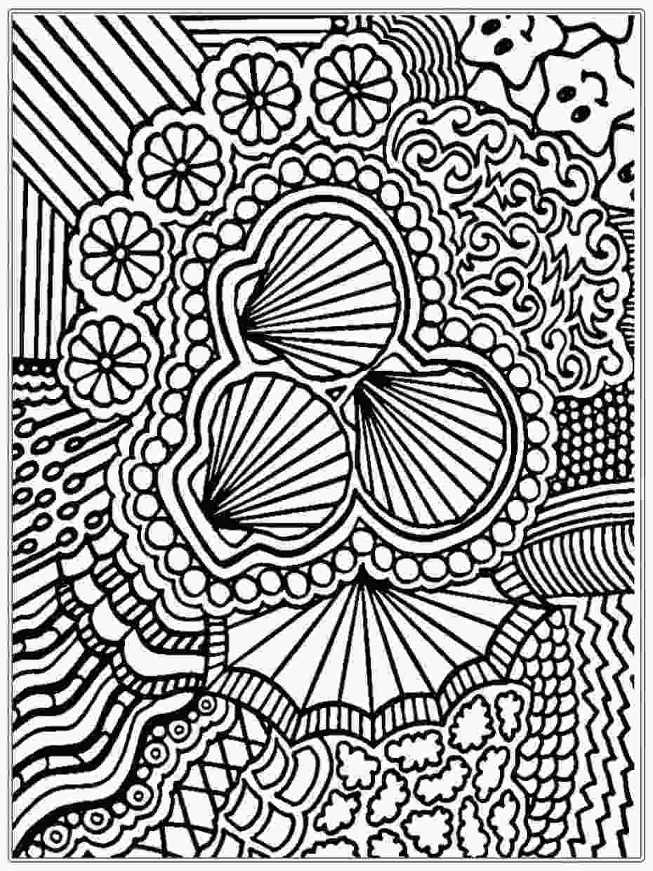 complex coloring page get this free complex coloring pages to print for adults 1