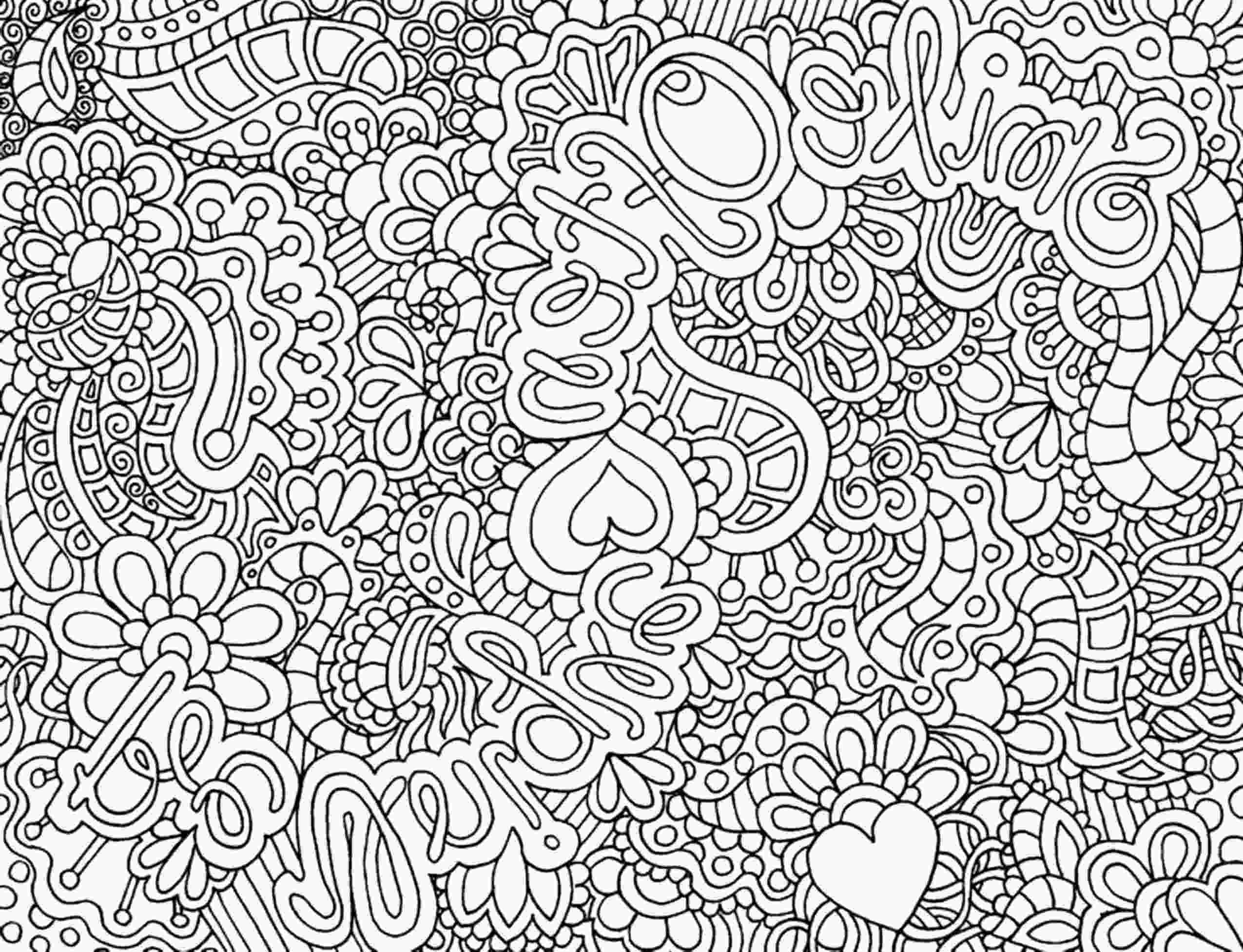 complex coloring page print amp download complex coloring pages for kids and adults 1