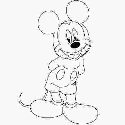 disney characters sketches step by step how to draw mickey minnie and other disney characters