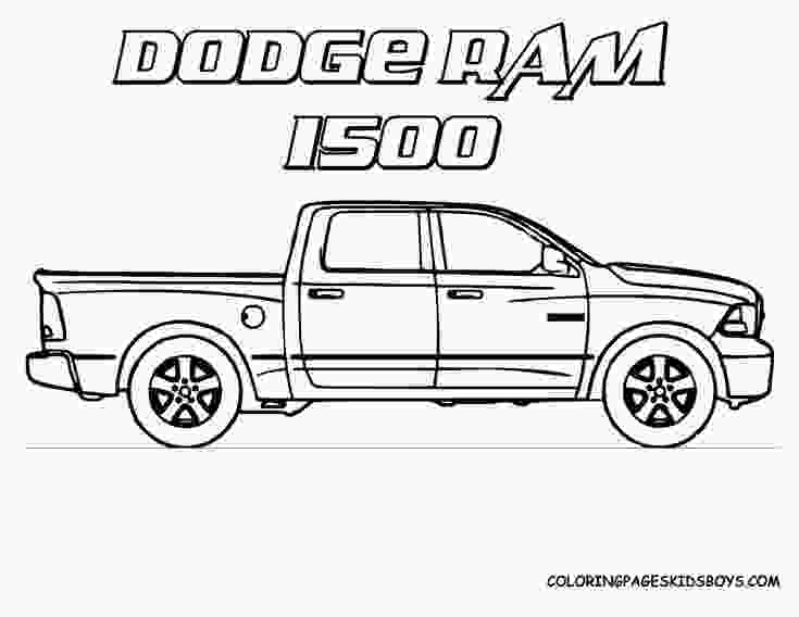 dodge truck coloring pages 17 best images about coloring book transportation on