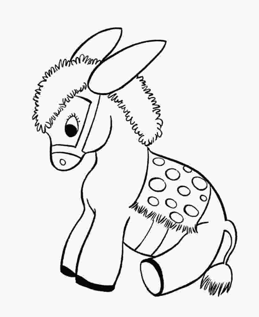 donkey coloring pages free free printable donkey coloring pages for kids