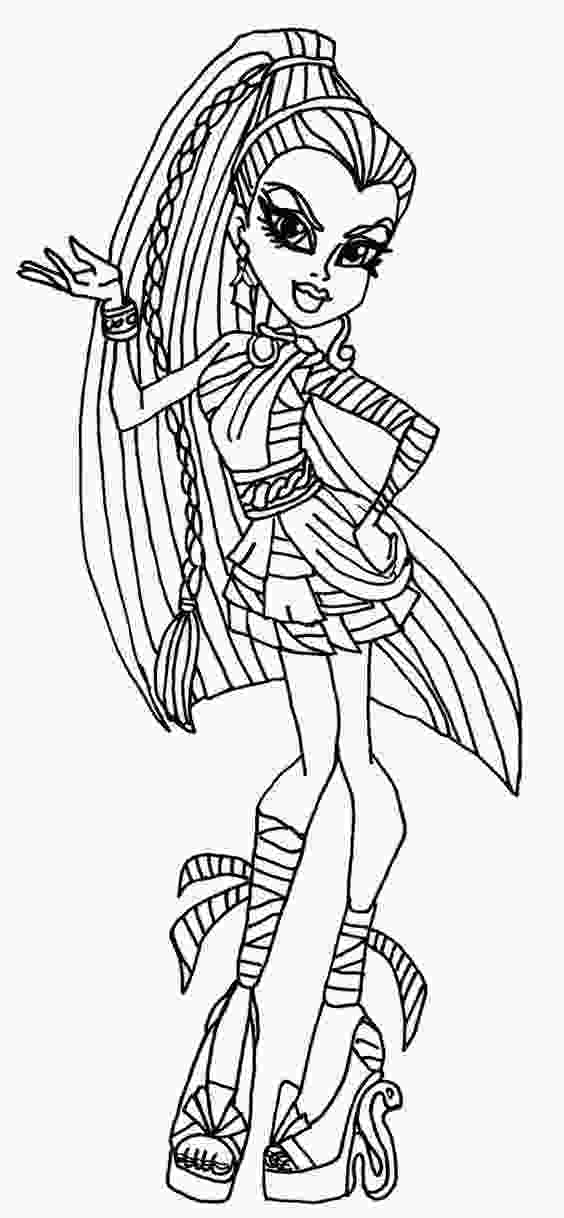free monster high colouring pages monster high colouring pages to print pictures colouring