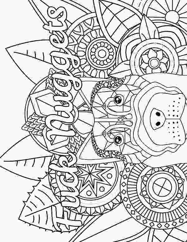 free printable coloring books dog adult coloring page swear 14 free printable