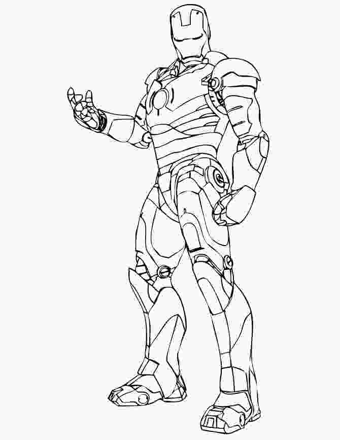 iron man color pages wonderful iron man coloring pages for kids
