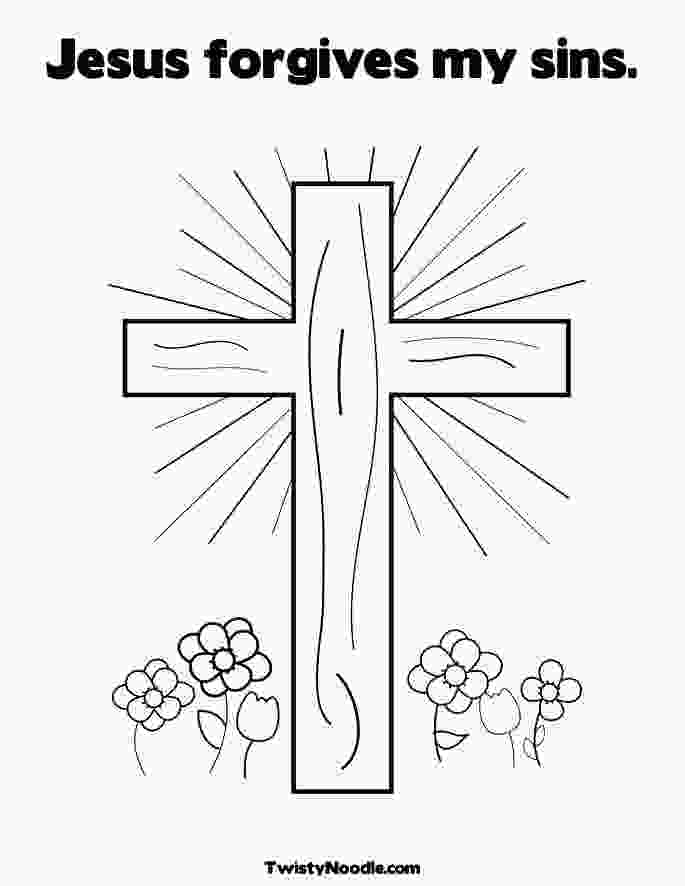 jesus forgives coloring page jvwynky forgiven today