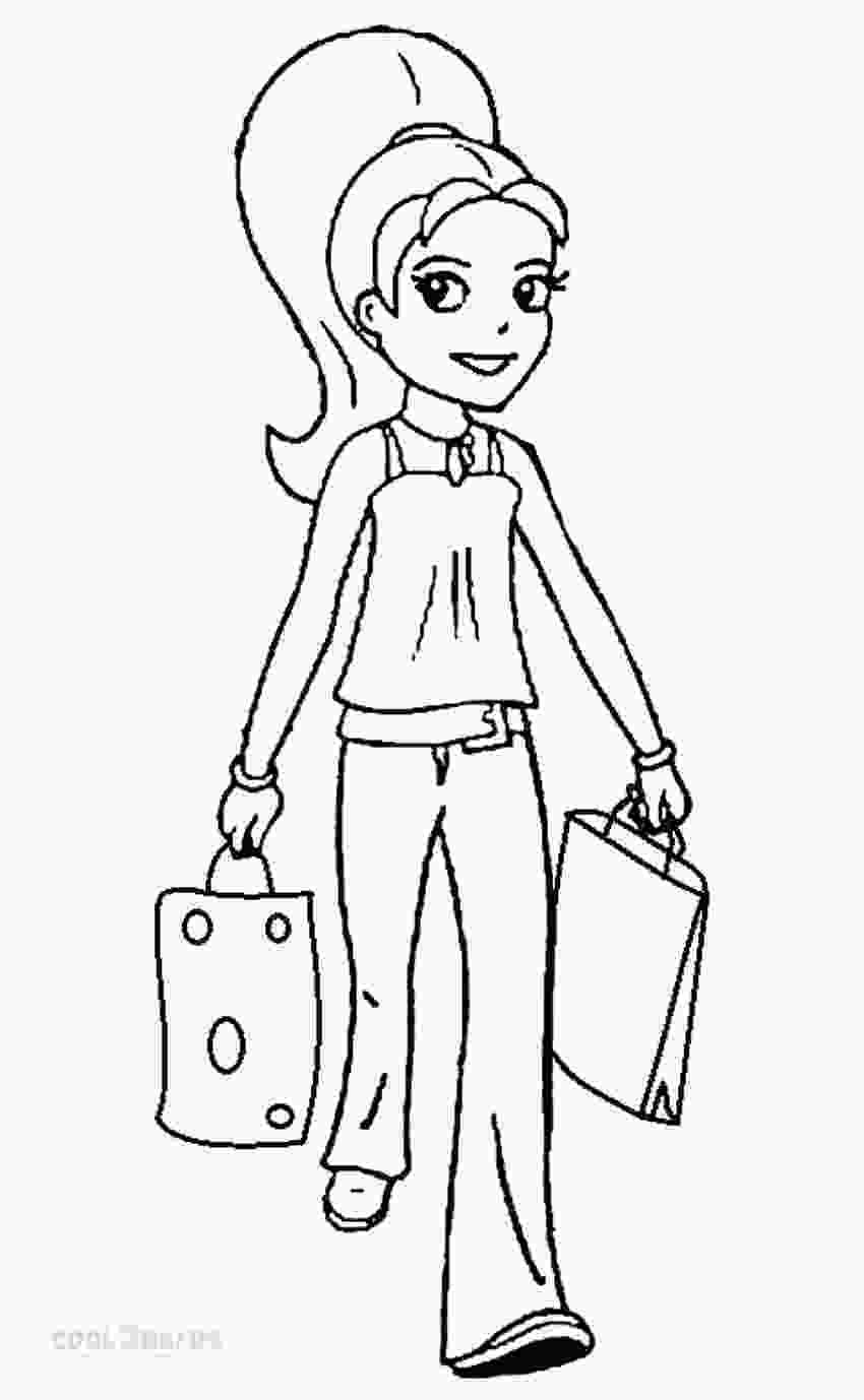 kids coloring print printable polly pocket coloring pages for kids cool2bkids 1