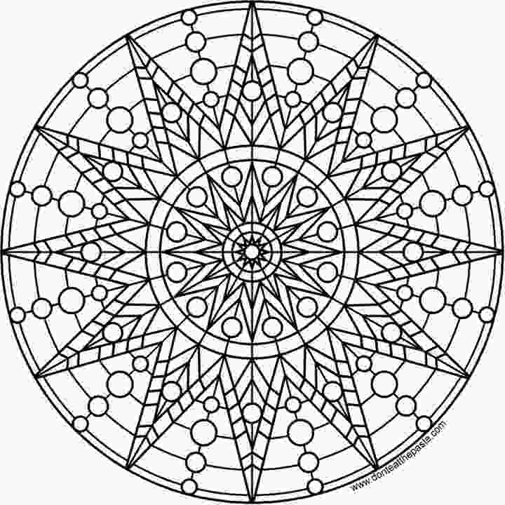mandalas printable the coolest free coloring pages for adults