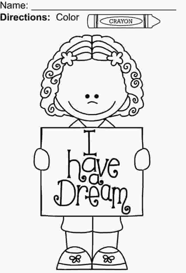 martin luther king jr coloring sheets i have a dream coloring page teach junkie