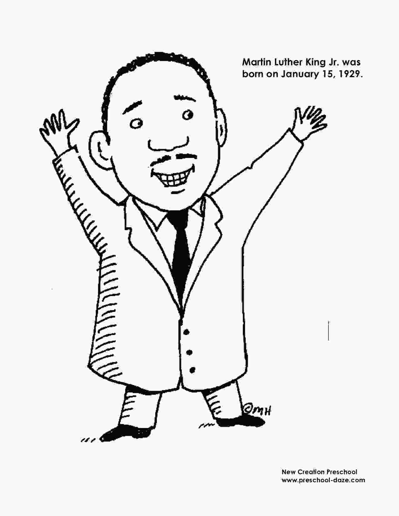 martin luther king jr coloring sheets m is for martin luther king jr printables preschool daze