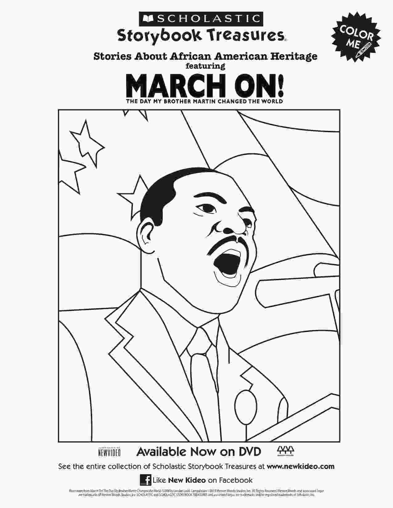 martin luther king jr coloring sheets martin luther king jr march on coloring page printable