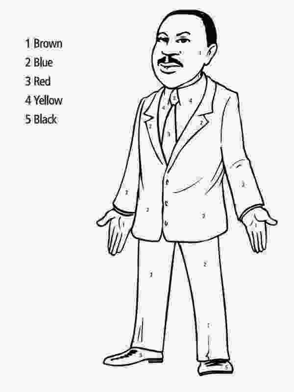 martin luther king jr coloring sheets print martin luther king jr coloring pages for kids 1