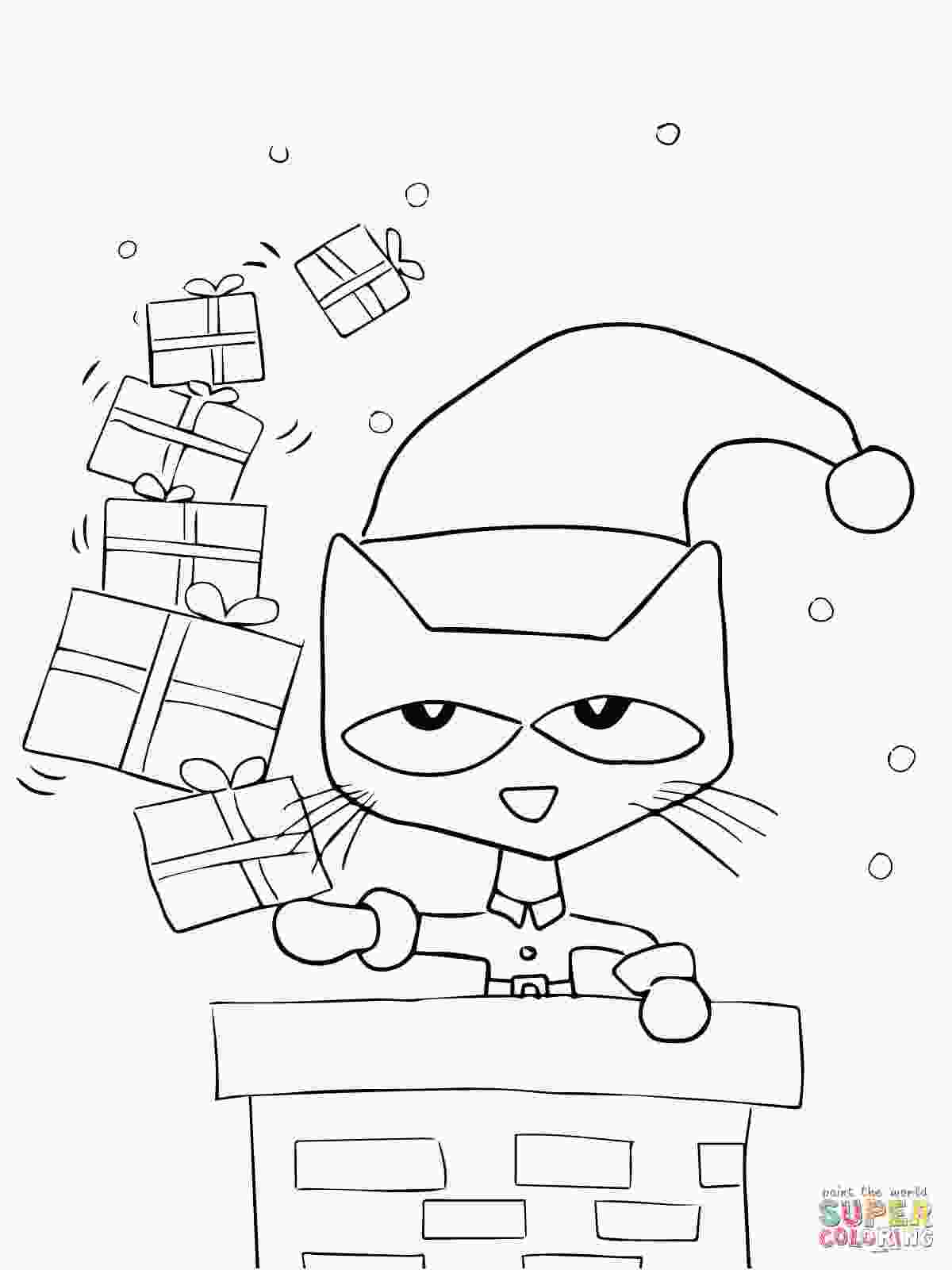 pete the cat coloring pages pete the cat coloring sheet 15 linearts for free