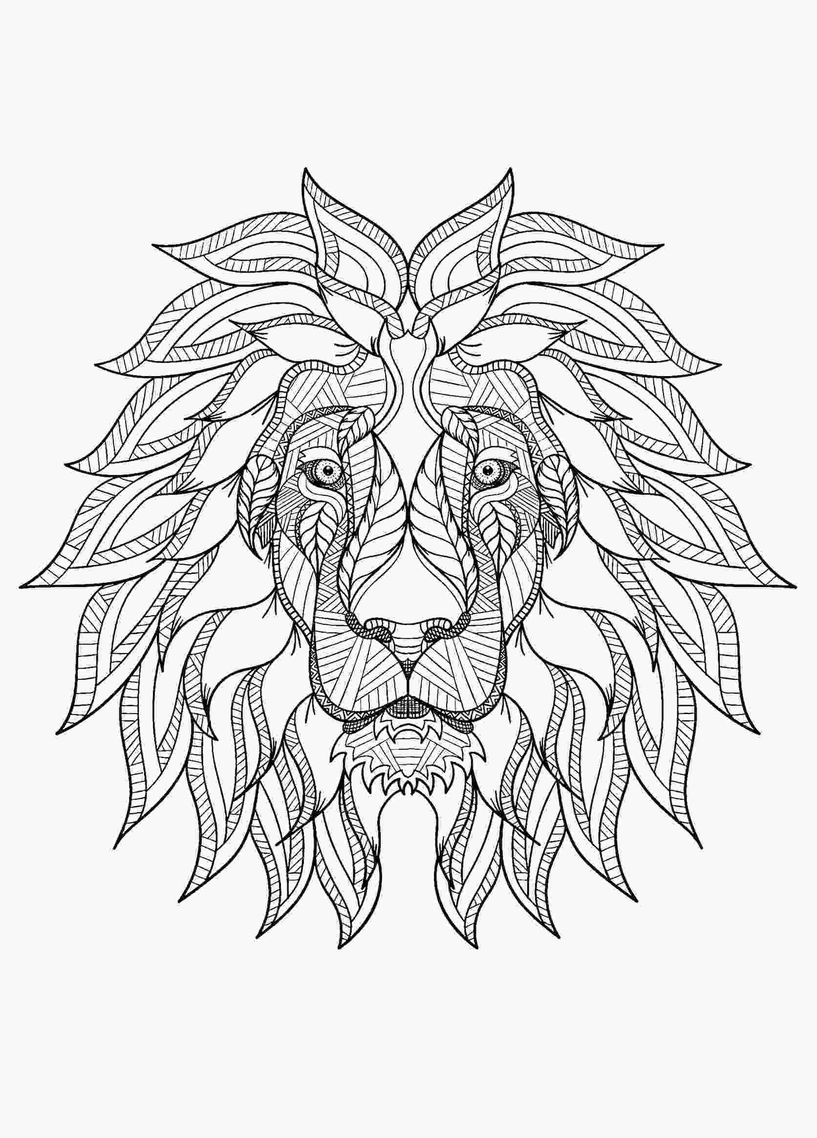 pictures of lions to color lion free to color for children lion kids coloring pages