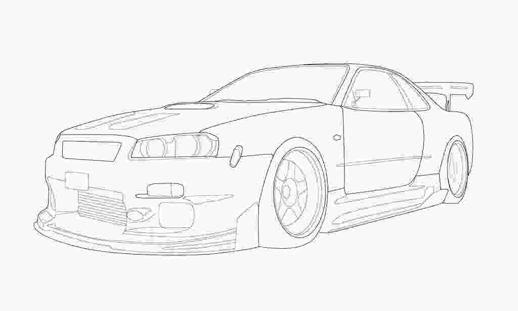 skyline coloring pages nissan skyline gtr to draw rapunga google see you on