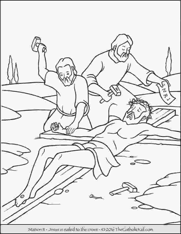 stations of the cross coloring pages 17 best images about stations of the cross coloring pages 4