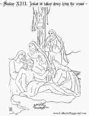 stations of the cross coloring pages 27 best images about lenten activities on pinterest 1