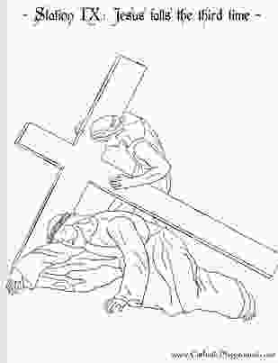 stations of the cross coloring pages 27 best images about lenten activities on pinterest