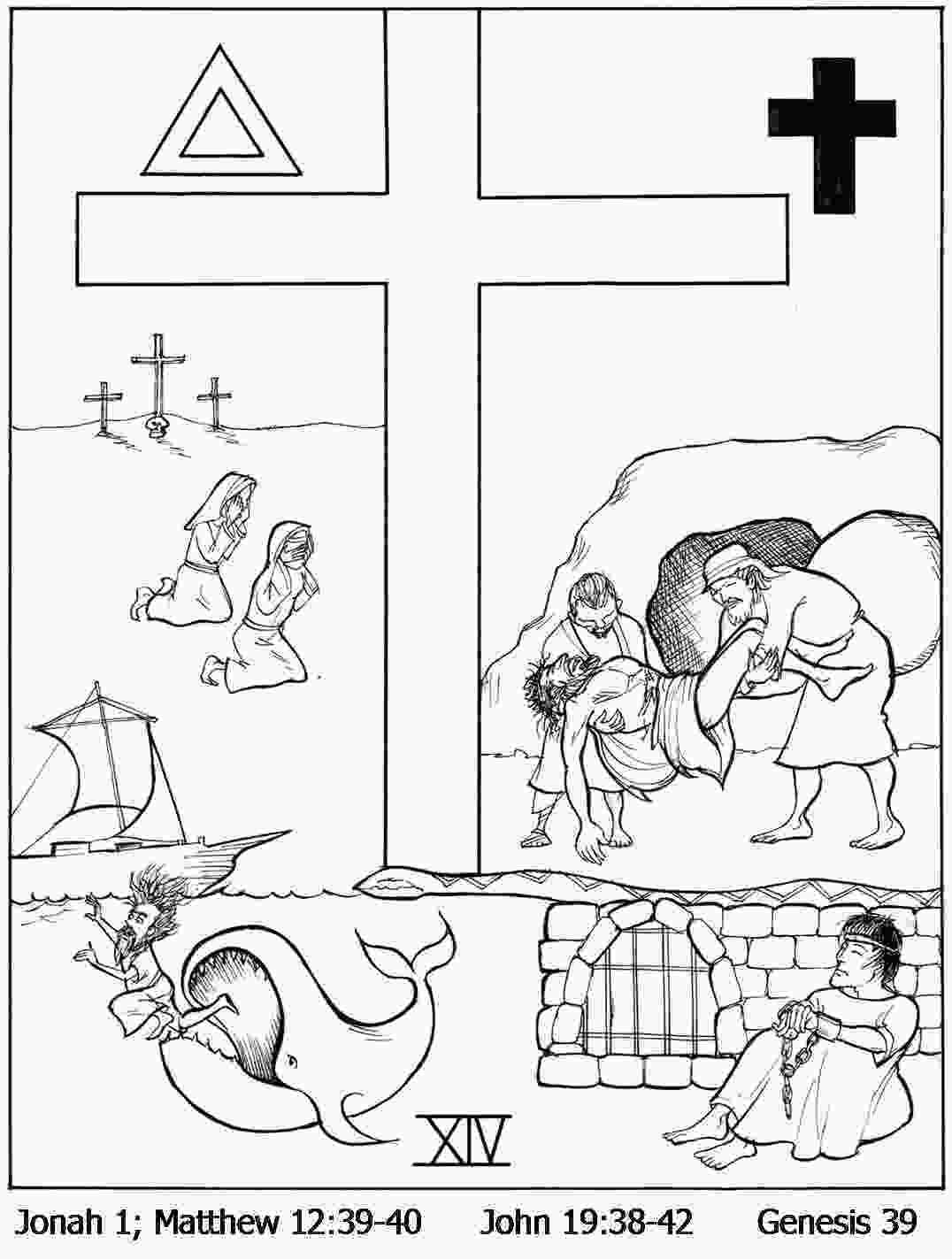 stations of the cross coloring pages blog archives