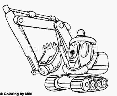 true cartoon coloring pages cartoon loading shovel coloring page 228