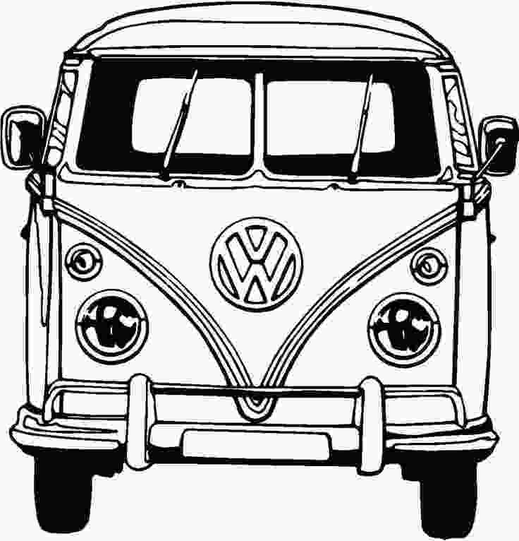 vw bus coloring page 17 best images about laser engraving on pinterest laser