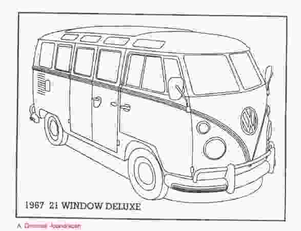 vw bus coloring page alexander gromows arte amp fusca the vw beetle and the