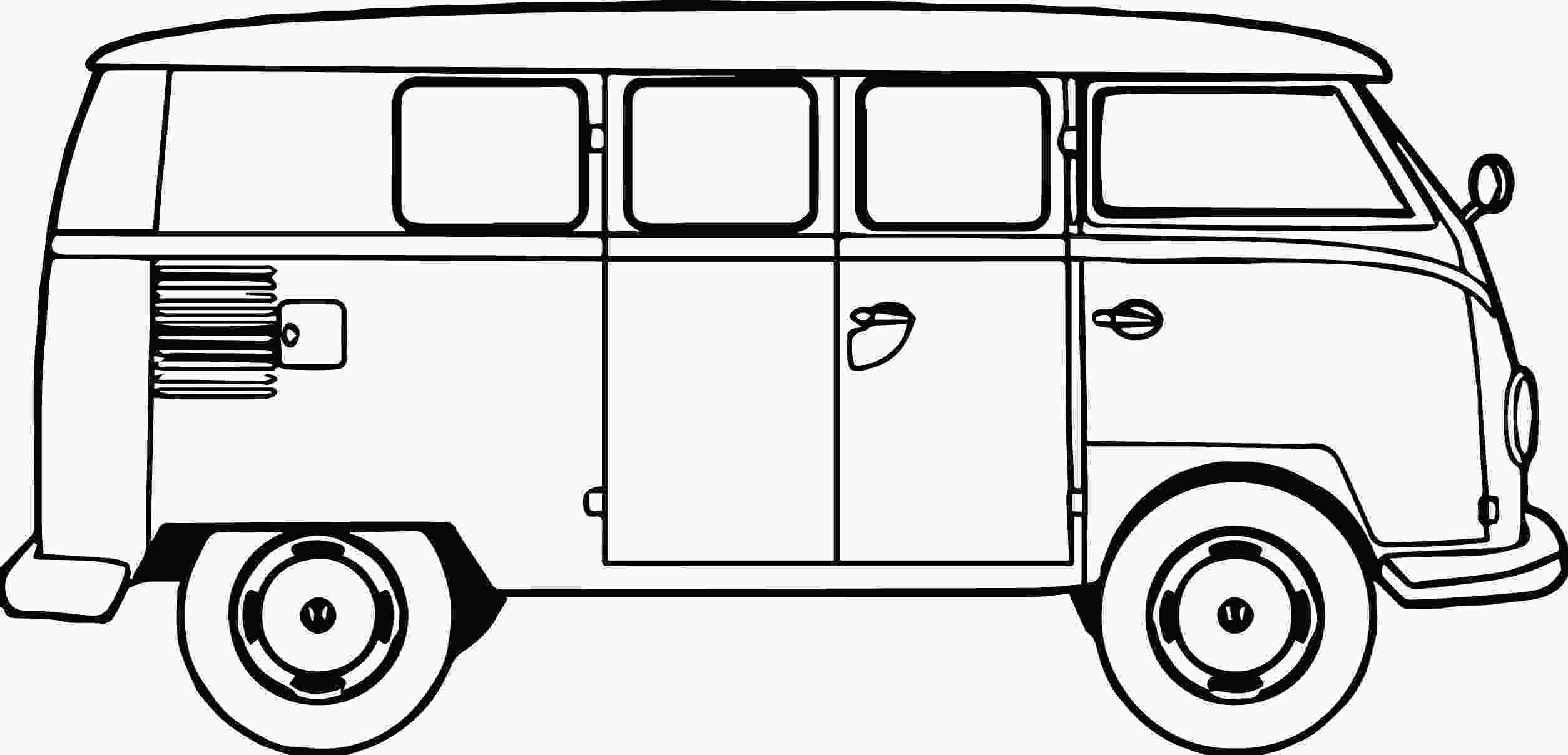 vw bus coloring page vw bus coloring pages coloring pages
