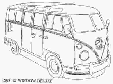 vw bus coloring page vw templates colouring sheets vw bus coloring pages