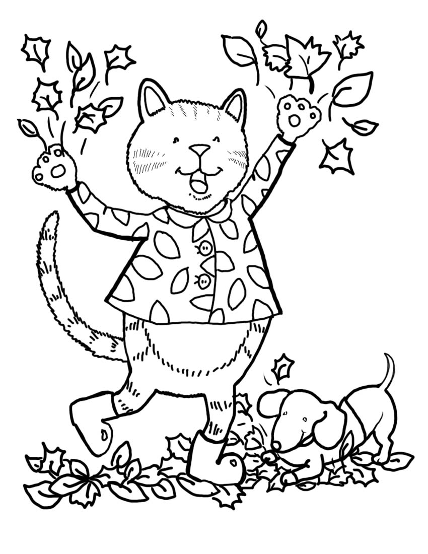 autumn coloring page free autumn coloring pages autumn weddings pics coloring page autumn