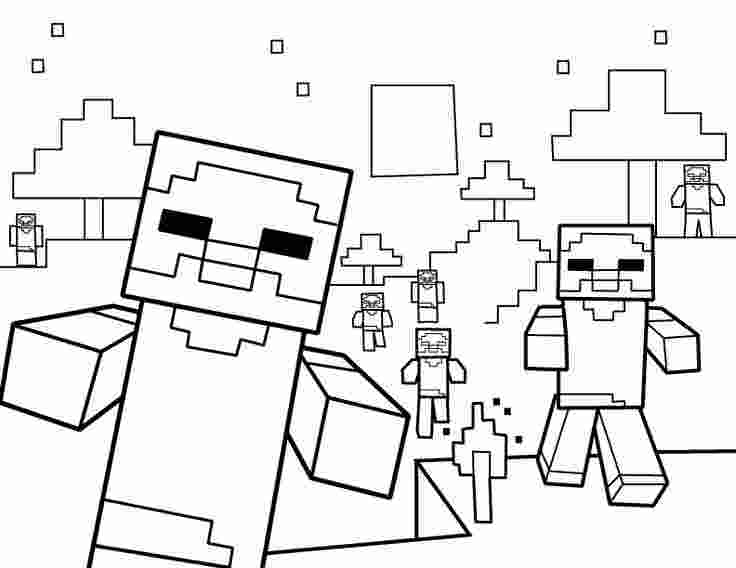coloring minecraft minecraft drawing at getdrawingscom free for personal