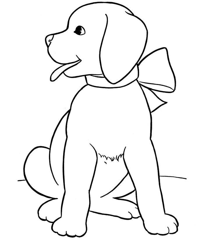 coloring page dog share a smile day march 1 childrens stories poems etc coloring page dog