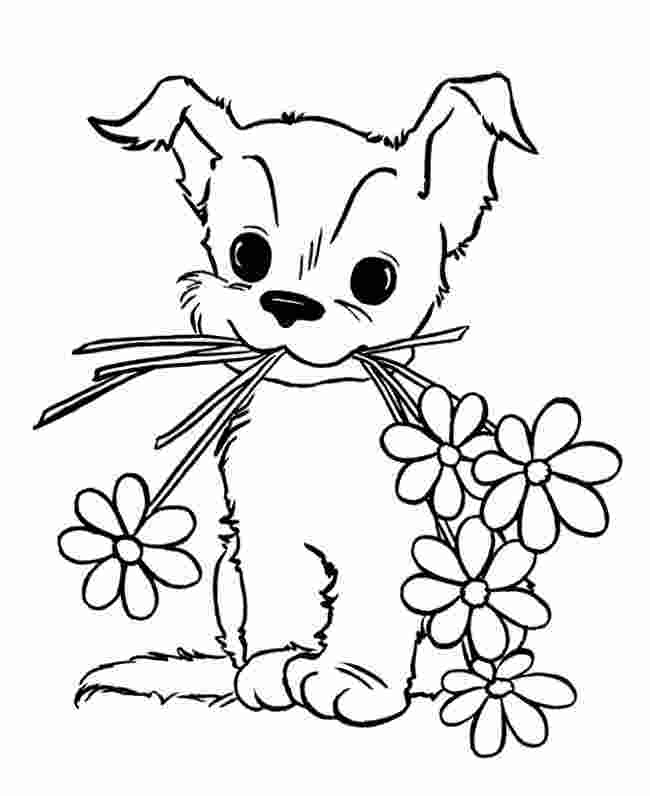 coloring pages dogs printable puppy coloring pages best coloring pages for kids