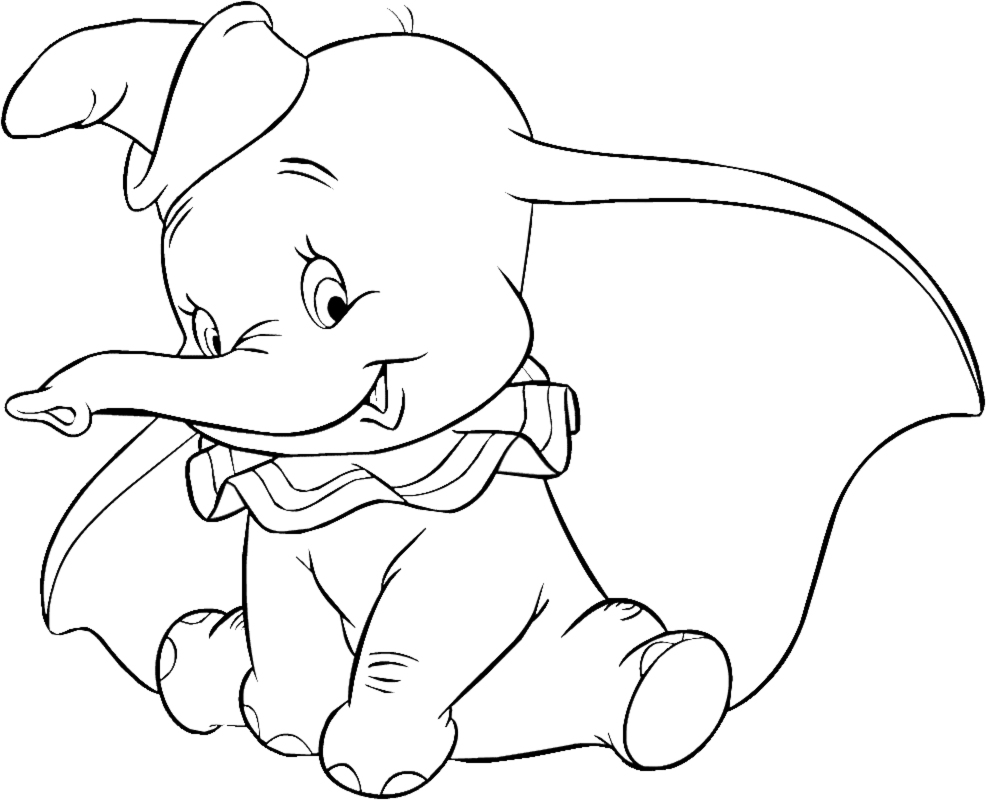 dumbo the elephant coloring pages disney dumbo quot elephant quot cartoon characters free coloring pages dumbo elephant the coloring