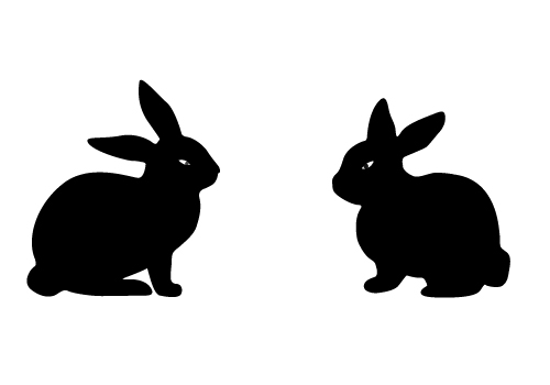 easter silhouettes holiday vector silhouette archives sv stock blog easter silhouettes