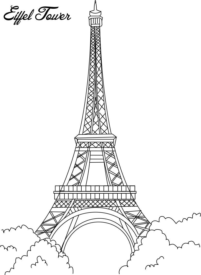 eiffel tower coloring images amazing eiffel tower coloring page download print eiffel tower coloring images