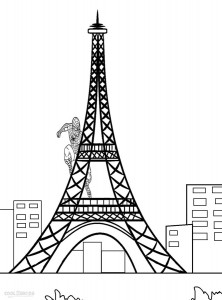 eiffel tower coloring images beautiful view of eiffel tower coloring page download coloring eiffel images tower