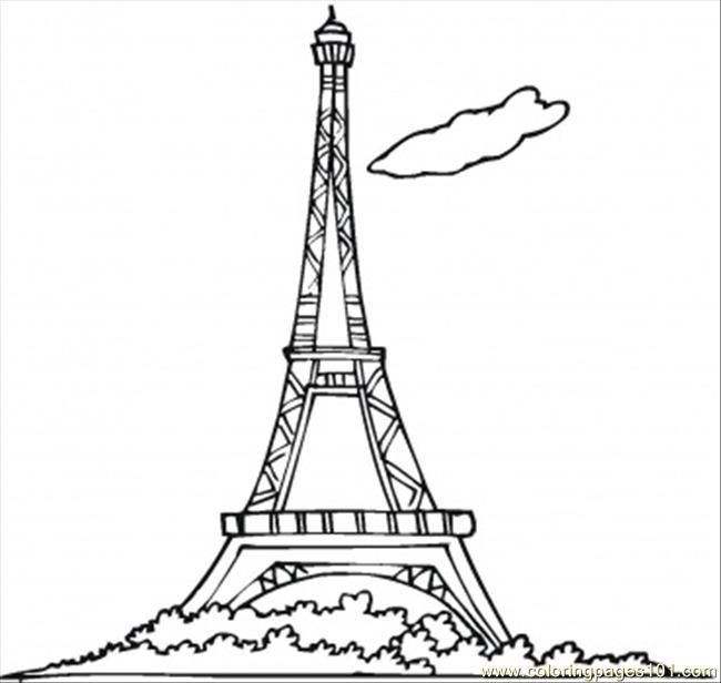 eiffel tower coloring images eiffel tower and stars in the sky coloring page download tower eiffel coloring images