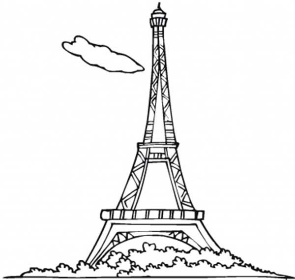 eiffel tower coloring images eiffel tower coloring page 17891 bestofcoloringcom coloring tower images eiffel