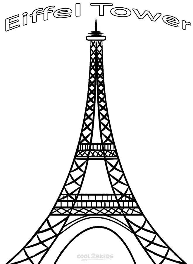 eiffel tower coloring images eiffel tower coloring pages coloring pages to download images eiffel tower coloring
