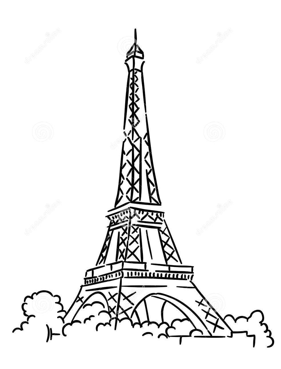 eiffel tower coloring images free printable eiffel tower coloring pages for kids eiffel images coloring tower
