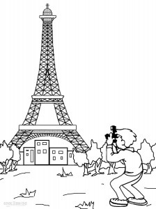 eiffel tower coloring images printable eiffel tower coloring pages for kids cool2bkids coloring eiffel images tower
