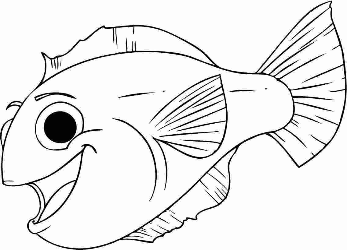 fish colouring images free printable fish coloring pages for kids tiger cub