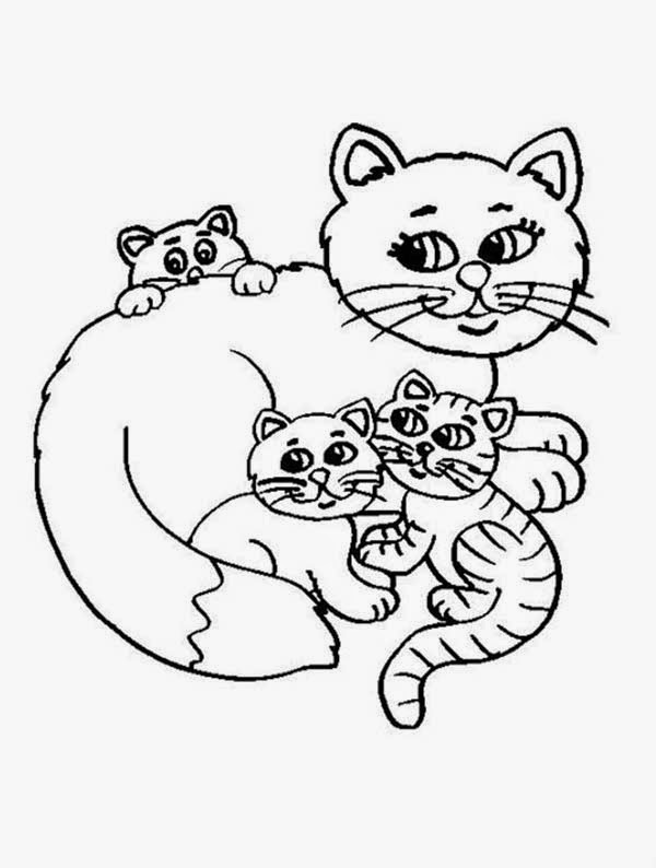 free coloring pages of kittens free printable cat coloring pages for kids free coloring kittens of pages