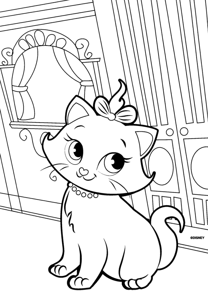 free coloring pages of kittens the marie cat coloring pages fantasy coloring pages pages coloring kittens of free