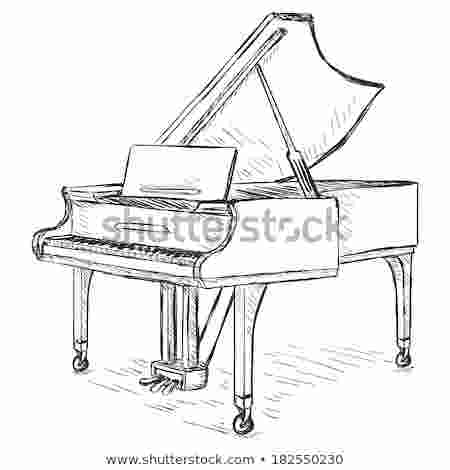 grand piano sketch piano keyboard stock photos images amp pictures shutterstock